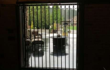 Interior aluminum gate, Fence Scapes, Asheville, NC