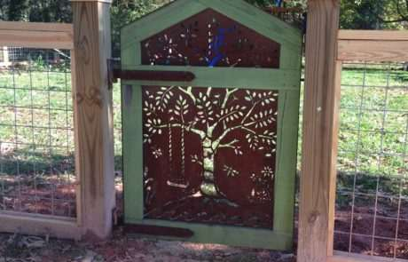 Decorate entry gate, Fence Scapes, WNC
