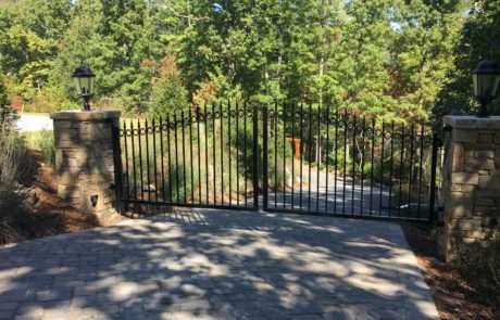 Aluminum gate operator, Fence Scapes, Asheville, NC