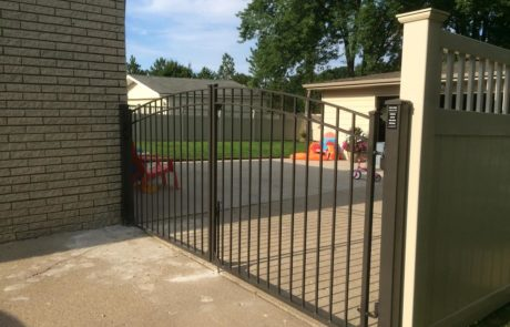 Driveway gate, Fence Scapes, WNC