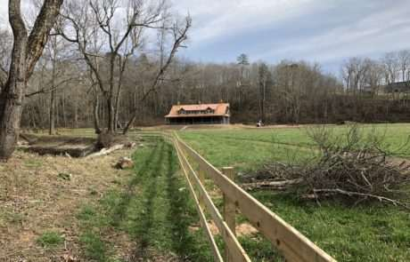 farm and livestock fencing for ranch home