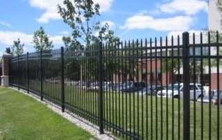 aluminum fencing for commercial business