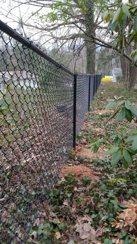 Chain link fence, Fence Scapes, WNC
