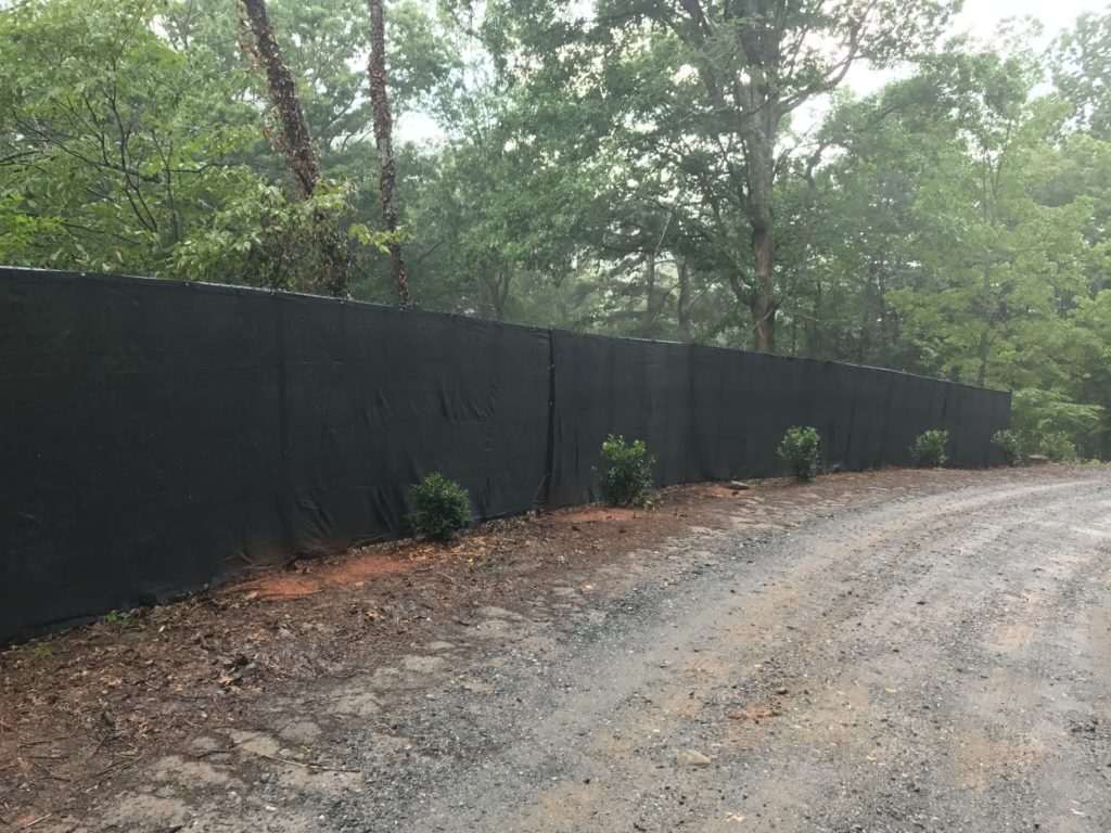 Chainlink Fence, Fence Scapes, WNC