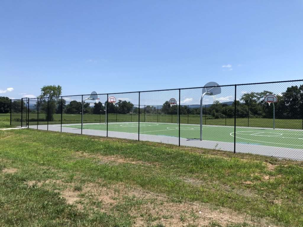 Basketball fence, Fence Scapes, WNC